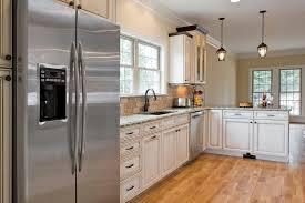 kitchen design white cabinets stainless appliances. Unique Cabinets Kitchen Designs With White Appliances Beautiful Stainless  Oak Cabinets Of For Design T