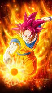 Super Saiyan God In Dragon Ball Super ...