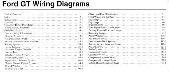 wiring diagram ford mustang the wiring diagram 2006 ford gt wiring diagram manual original wiring diagram