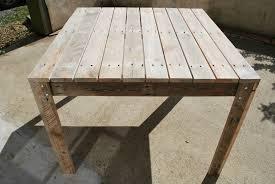 Emejing Table De Jardin En Bois Fabrication Pictures Awesome Plan Pour Construire Une Table De Jardin En Bois