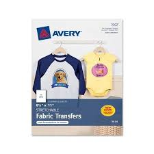 Avery 8942 Avery Iron On Transfer Paper Ave3302