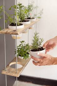 make this indoor herb garden planter from grillo designs in 10 minutes from a baking pan