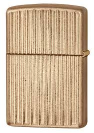 <b>Зажигалка Zippo</b> Armor Vertical Lines (28638) золотистая