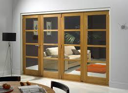 edge oak internal bifold doors