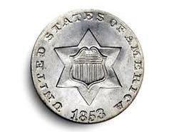 3 Cent Piece Value Chart 3 Cent Coin Value Chart 1851 1853 United States Valuable