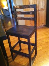 table bar height chairs diy: diy counter height bar stool plan and guide