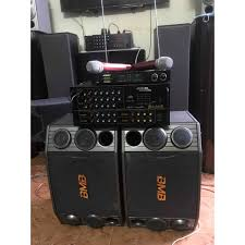 Bộ dàn karaoke loa BMB2000C, Amli 506N 16 sò, kèm bộ míc Bose 777II, Giá  tháng 10/2020