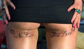 Tattoo Mode Prominente Mit Sprüchen Versen Und Slogans Bild 11