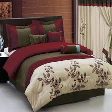 burdy comforter set queen and curtains