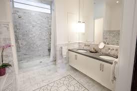 marble tile bathroom. elegant white marble subway tile bathroom