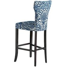 light blue kitchen bar stools stool racer blueprints metal acrylic with back kent royal bonded leather arms counter island swivel white height