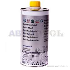 <b>Жидкость тормозная</b> 1л - <b>Brake</b> Fluid DOT-4 <b>VAG</b> B000750M3 ...
