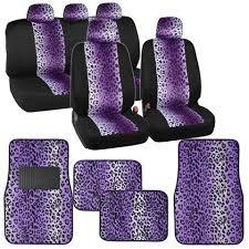 animal print purple leopard car