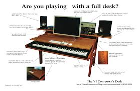 the vi composer s desk when you want to lay down some keys you don