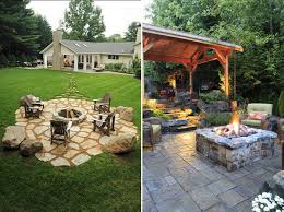 Outdoor Fire Pit Ideas Dream Of Ideal Home With Some Backyard Backyard Fire Pit Area