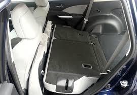 honda cr v rear seat 2016