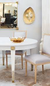 Painted Louis Xvi Style Antique French Dining Table At 1stdibs