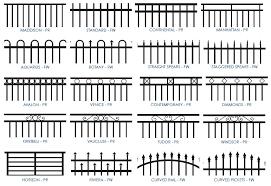 metal fence styles. Tubular Steel Fence Metal Styles N