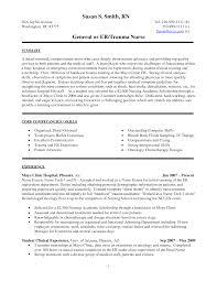 nursing internship resume