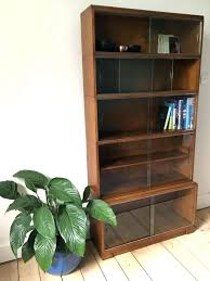 medium size of bookcase with sliding glass doors altra brown ameriwood white spirg antique barrister home