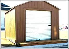 small garage door opener motorcycle for shed