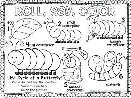The Hungry Caterpillar Coloring Page X Very Hungry Caterpillar