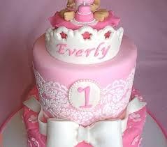 Lovely Baby Girl 1st Firs Birthday Cake Pinterest Baby Cake Images