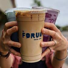 Fun and creative espresso, cold brew coffee, tea, and. The Forum Coffee House Serving San Diego