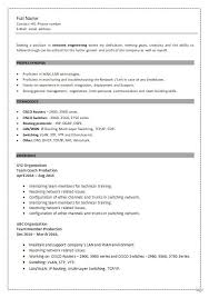 How To Fill Up A Resume Mesmerizing 48 Perfect CCNA Resume Samples That You Should Use
