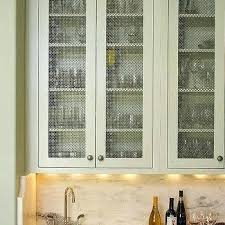 wire mesh for cabinet doors kitchen with metal how to install in
