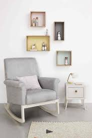 compact nursery furniture. olli ella ro ki rocker nursery chair in dove grey this luxurious and beautifully comfortable from is compact enough for any furniture r
