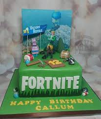 Fortnite Themed Birthday Cakes Quality Cake Company