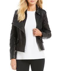 moto womens antonio melani luxury collection astrid genuine leather jacket black gift to live
