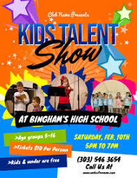Talent Show Flyer Design 150 Talent Show Customizable Design Templates Postermywall
