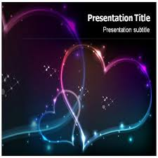 Love Power Point Background Amazon Com Stars And Hearts Powerpoint Template Stars