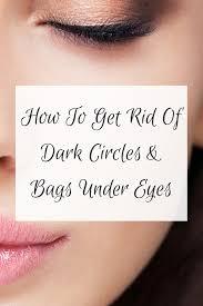 dark circles and bags under eyes