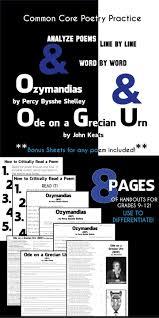 best ideas about ozymandias poem short comics ozymandias and ode on a grecian urn