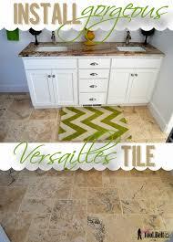 Superior Install Gorgeous Versailles Tile Tutorial