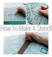 How To Use Plastic Quilting Stencils - Best Accessories Home 2017 & How To Make A Stencil No Ly Gadgets Required Salvaged Adamdwight.com