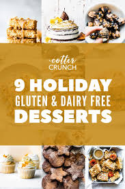 gluten and dairy free desserts for