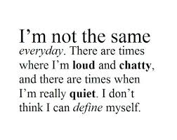 Quotes quiet Self Quotes About Me And Cute Define Loud Love Me Myself Quiet Quote 11