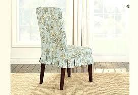 sure fit cotton duck chair cover new surefit chair slipcovers sure fit short dining slipcover educonf