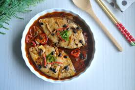 braised fish in black bean 1