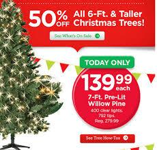Michaels Sale on Christmas Trees ...