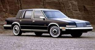 1990 93 Chrysler Imperial New Yorker Fifth Avenue I Thought This Was The Coolest Car In Middle School Chrysler Imperial Chrysler New Yorker Chrysler Cars