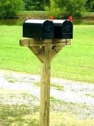 mailbox post ideas. Mail Box Post Wood Double Mailbox Ideas Design Full Image For Plans Wooden Home Depot O