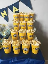 27 Minion Party Ideas | BabyCentre Blog | Jacks 3rd Bday | Pinterest |  Popcorn, Birthdays and Minion movie