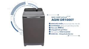 Máy giặt AQUA Inverter AQW-DR100ET – Giặt sạch vượt trội cùng mâm giặt kép  Twin Pulsator - YouTube