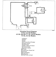 1994 volvo 7 4 gl alternator wiring page 1 iboats boating simple alternator wiring diagram at Battery Starter Alternator Wiring Diagram