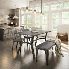 The Brick Furniture Kitchener Amisco Southcross Table Base 50562 Architect Chair 30263